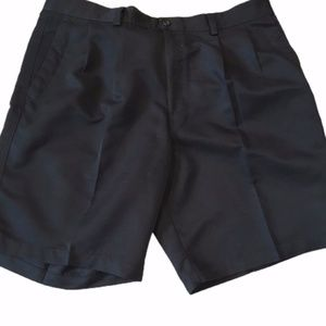 Black Dockers mens golf dress shorts waist 38